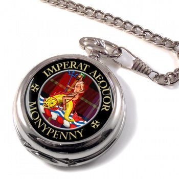 Monypenny Scottish Clan Pocket Watch