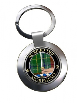 Morehead Scottish Clan Chrome Key Ring