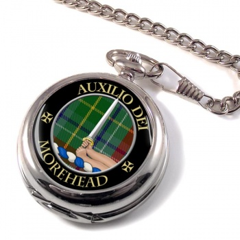Morehead Scottish Clan Pocket Watch
