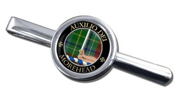 Morehead Scottish Clan Round Tie Clip