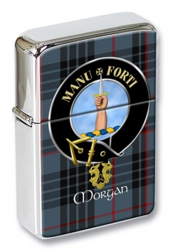 Morgan Scottish Clan Flip Top Lighter