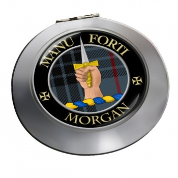 Morgan Scottish Clan Chrome Mirror