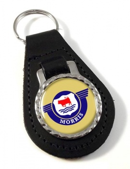 Morris Motors Leather Keyfob