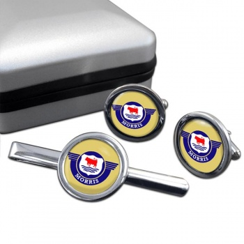Morris Motors Cufflink and Tie Clip Set
