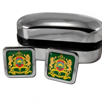 Morocco  Square Cufflinks