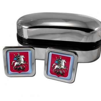 Moscow Square Cufflinks