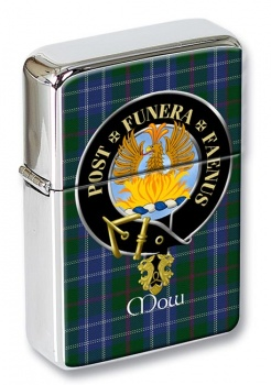 Mow Scottish Clan Flip Top Lighter