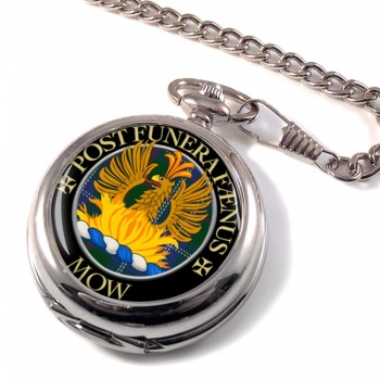 Mow Scottish Clan Pocket Watch
