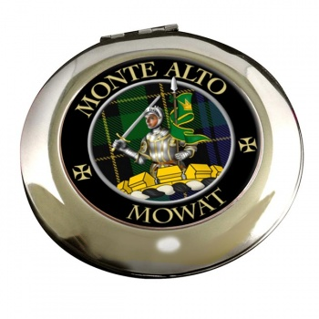 Mowat Scottish Clan Chrome Mirror