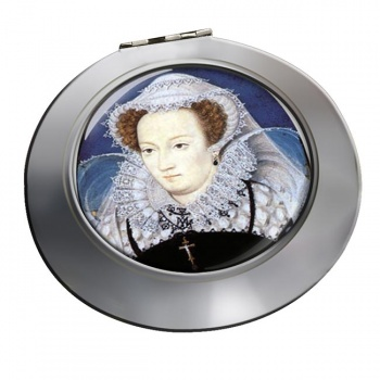 Mary Queen of Scots Chrome Mirror