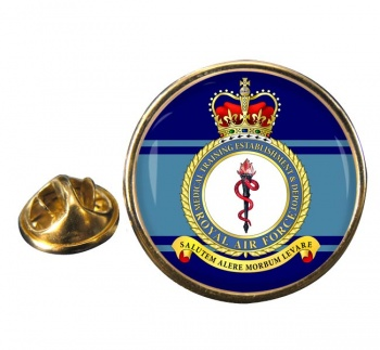 Medical Training Establishment & Depot (Royal Air Force) Round Pin Badge