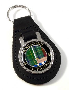 Muirhead Scottish Clan Leather Key Fob