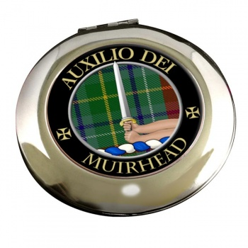 Muirhead Scottish Clan Chrome Mirror