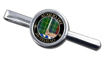 Muirhead Scottish Clan Round Tie Clip