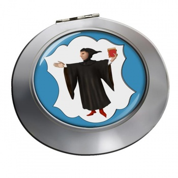 Munchen Munich (Germany) Round Mirror
