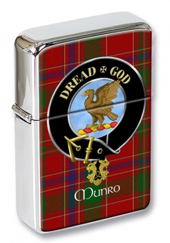 Munro Scottish Clan Flip Top Lighter