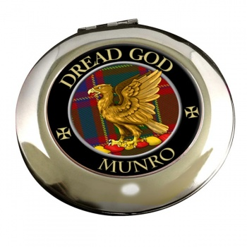 Munro Scottish Clan Chrome Mirror