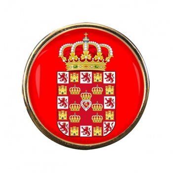 Murcia Ciudad (Spain) Round Pin Badge