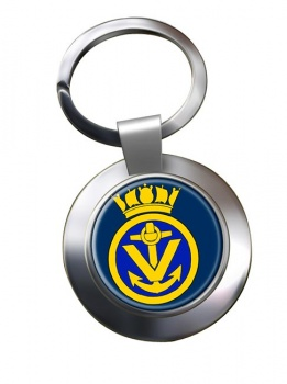 Maritime Volunteer Service Chrome Key Ring
