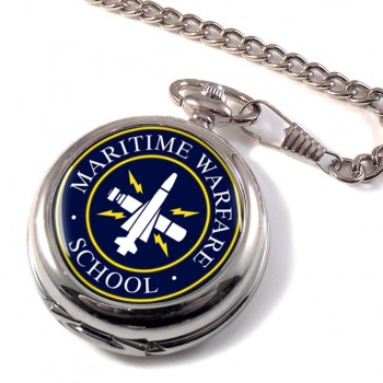 Maritime Warfare School (MWS) RN Pocket Watch