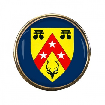 Nairnshire (Scotland) Round Pin Badge
