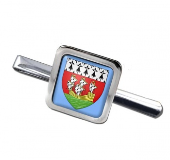 Nantes (France) Square Tie Clip