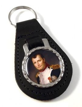 Napoleon Bonaparte 1812 Leather Key Fob