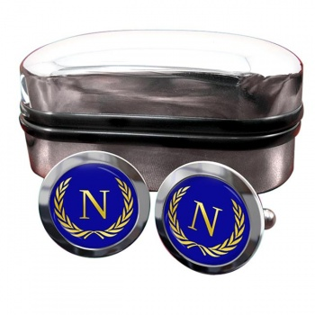 Monogram of Napoleon (France) Crest Cufflinks