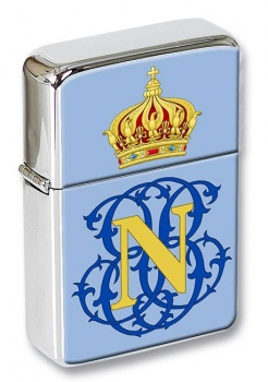 Monogram of Napoleon (France) Flip Top Lighter