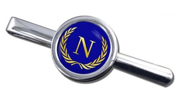 Monogram of Napoleon (France) Round Tie Clip