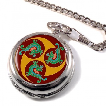 Native Art Pocket Watch