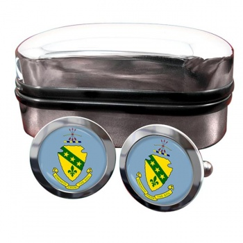 North Dakota  Crest Cufflinks