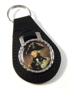 Admiral Lord Nelson Leather Key Fob