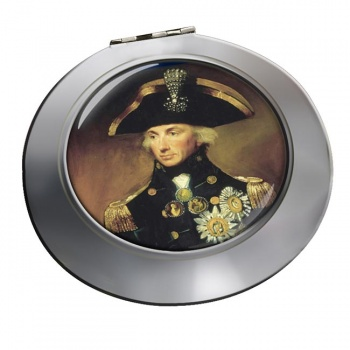 Admiral Lord Nelson Chrome Mirror