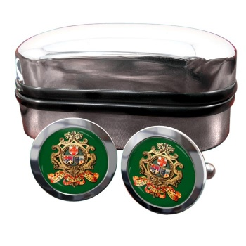 North Eastern Railway Round Cufflinks