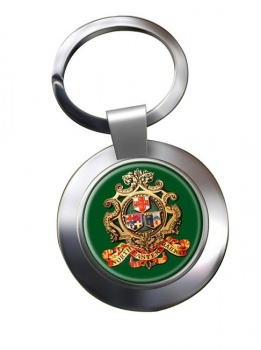 North Eastern Railway Chrome Key Ring