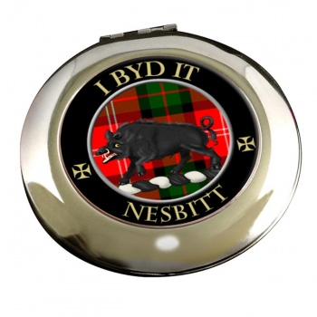 Nesbitt Scottish Clan Chrome Mirror