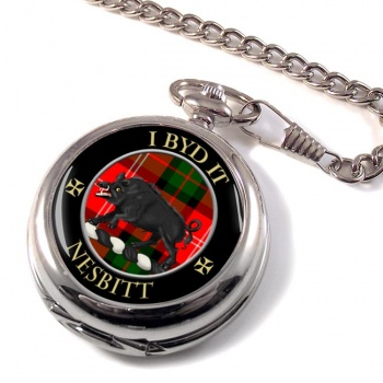 Nesbitt Scottish Clan Pocket Watch