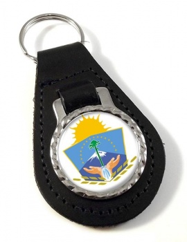 Argentine Neuquen Province Leather Key Fob
