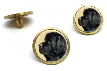 Newfoundland Dog  Golf Ball Marker Set