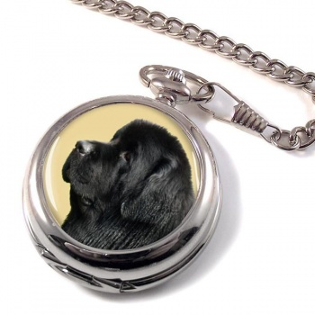 Newfoundland Dog Pocket Watch