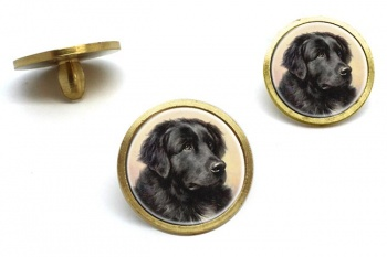 Newfoundland Dog by Reichert  Golf Ball Marker Set