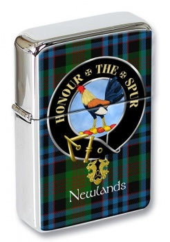 Newlands Scottish Clan Flip Top Lighter
