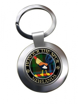 Newlands Scottish Clan Chrome Key Ring