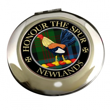 Newlands Scottish Clan Chrome Mirror