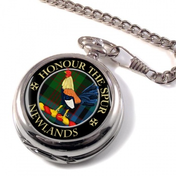 Newlands Scottish Clan Pocket Watch