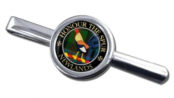 Newlands Scottish Clan Round Tie Clip