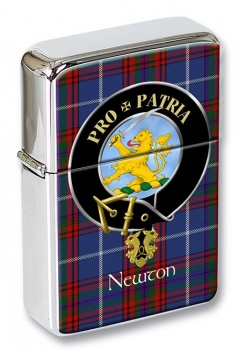 Newton Scottish Clan Flip Top Lighter