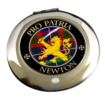 Newton Scottish Clan Chrome Mirror