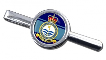 RAF Station North Front Round Tie Clip